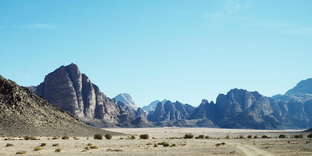 Немного о красном песке: пустыня Вади Рам в Иордании