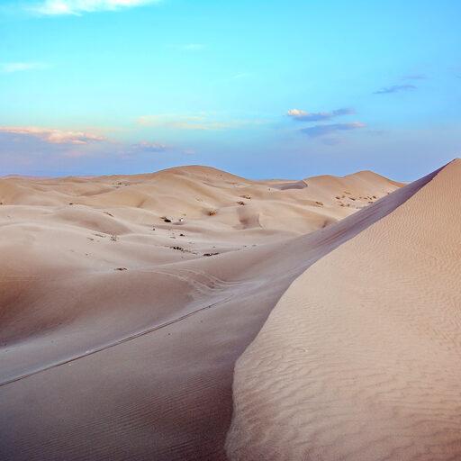 Песок и соль пустыни Варзане