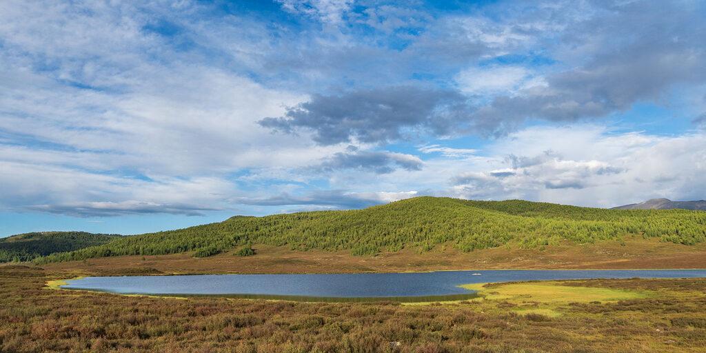 Алтай. Улаганское плато и озера.
