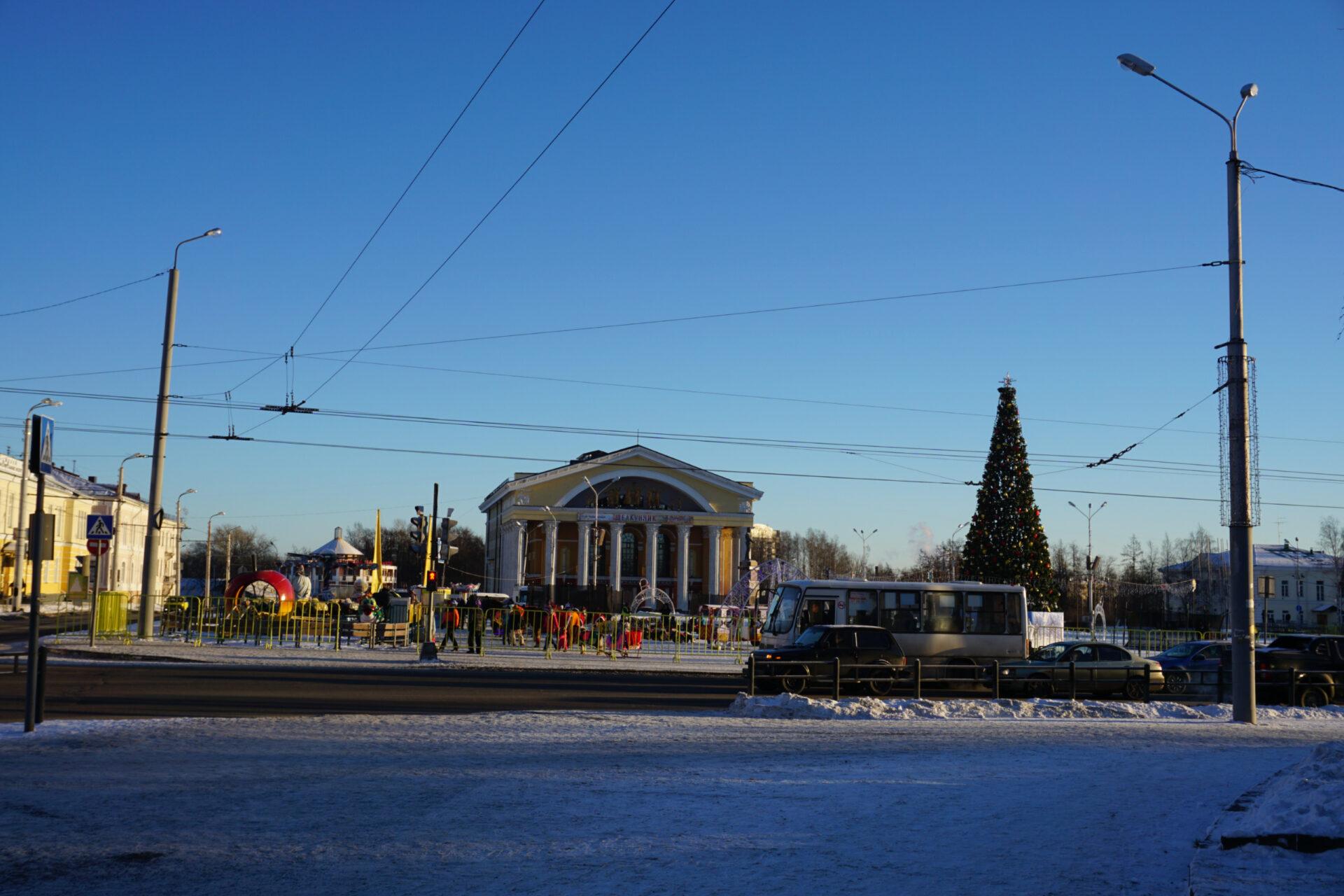 Зимние каникулы вКарелии (Петрозаводск)