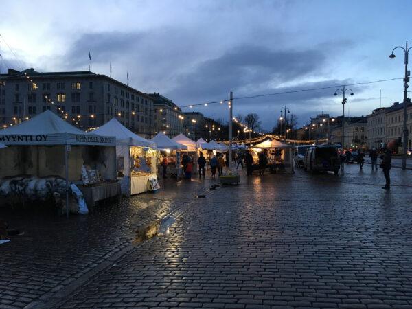 Рождественская Финляндия. Хельсинки