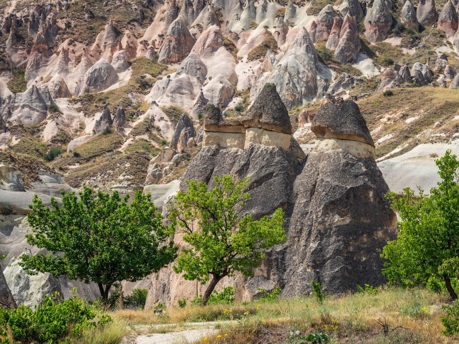 Каппадокия. Долина Паша Баглари (Пашабаг). Часть 1