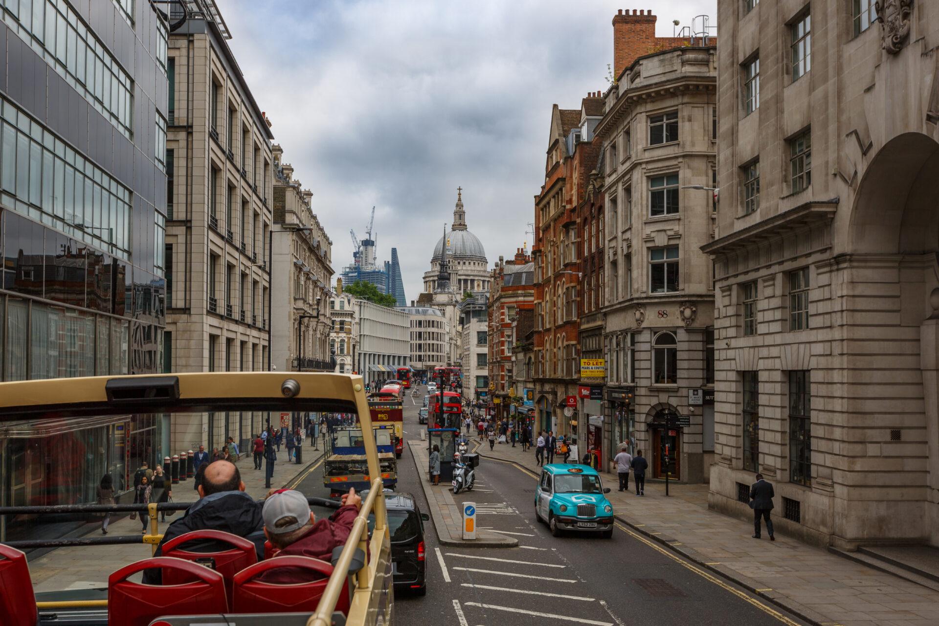 Мне приснилось небо Лондона…