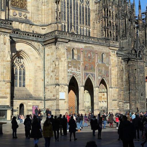 Колокольня Святого Вита. 287 ступеней над Прагой