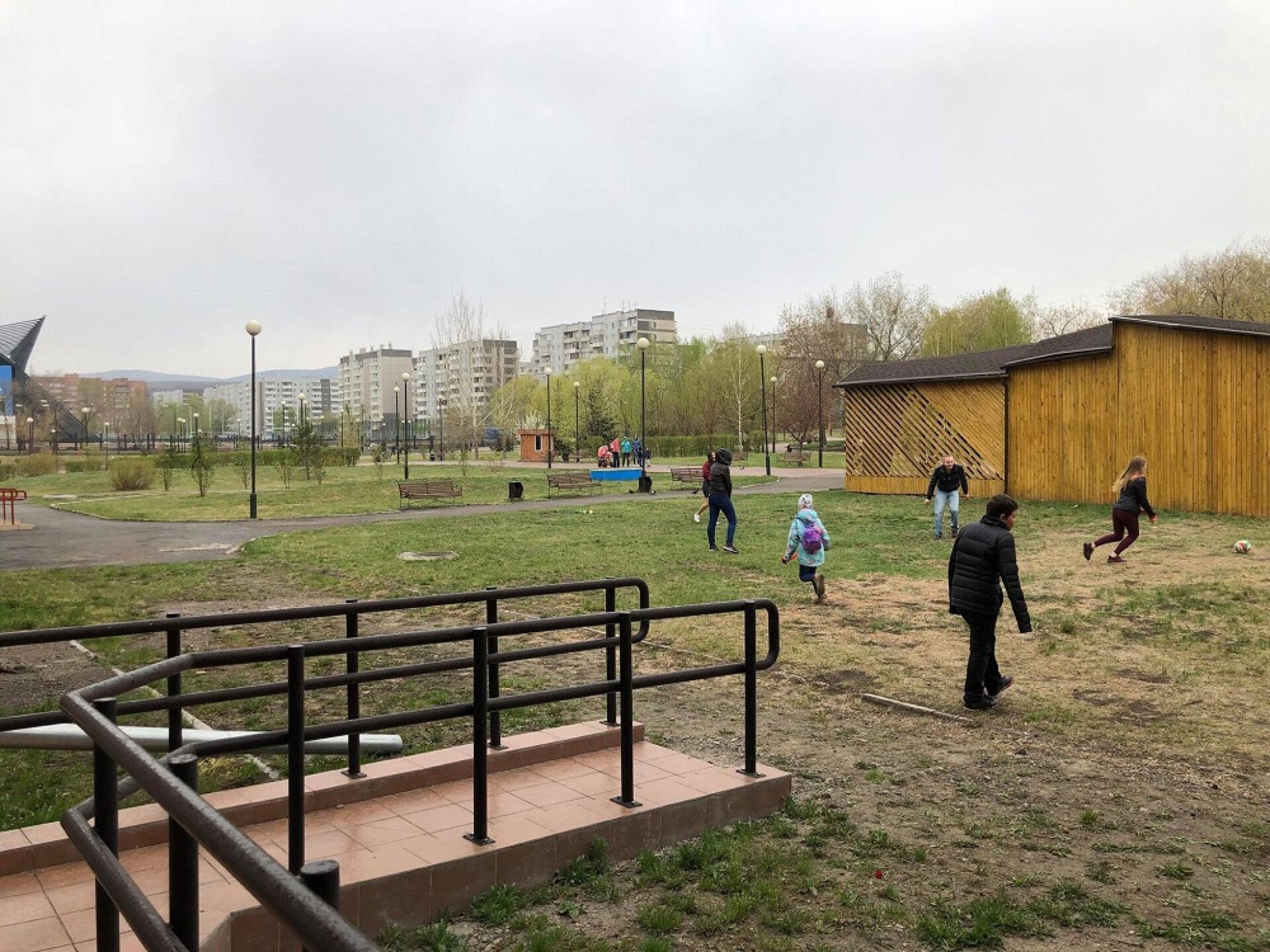 Прогулка попарку «Каменка» вКрасноярске