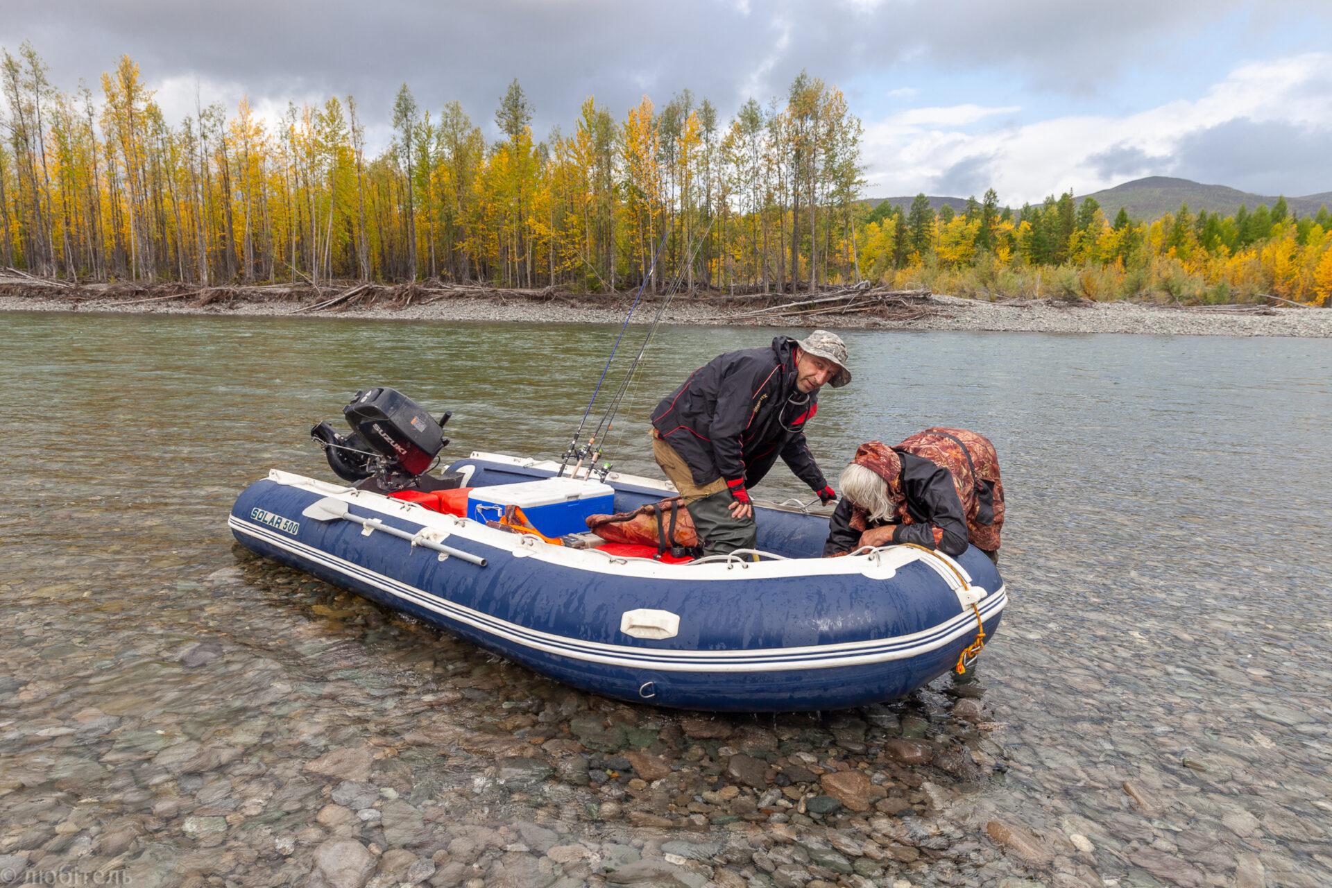 Плыла-качалась лодочка, дапоТомпо-реке. Часть 3