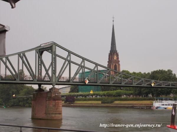Франкфурт наМайне Часть 1 Правый берег Майна или Северная сторона