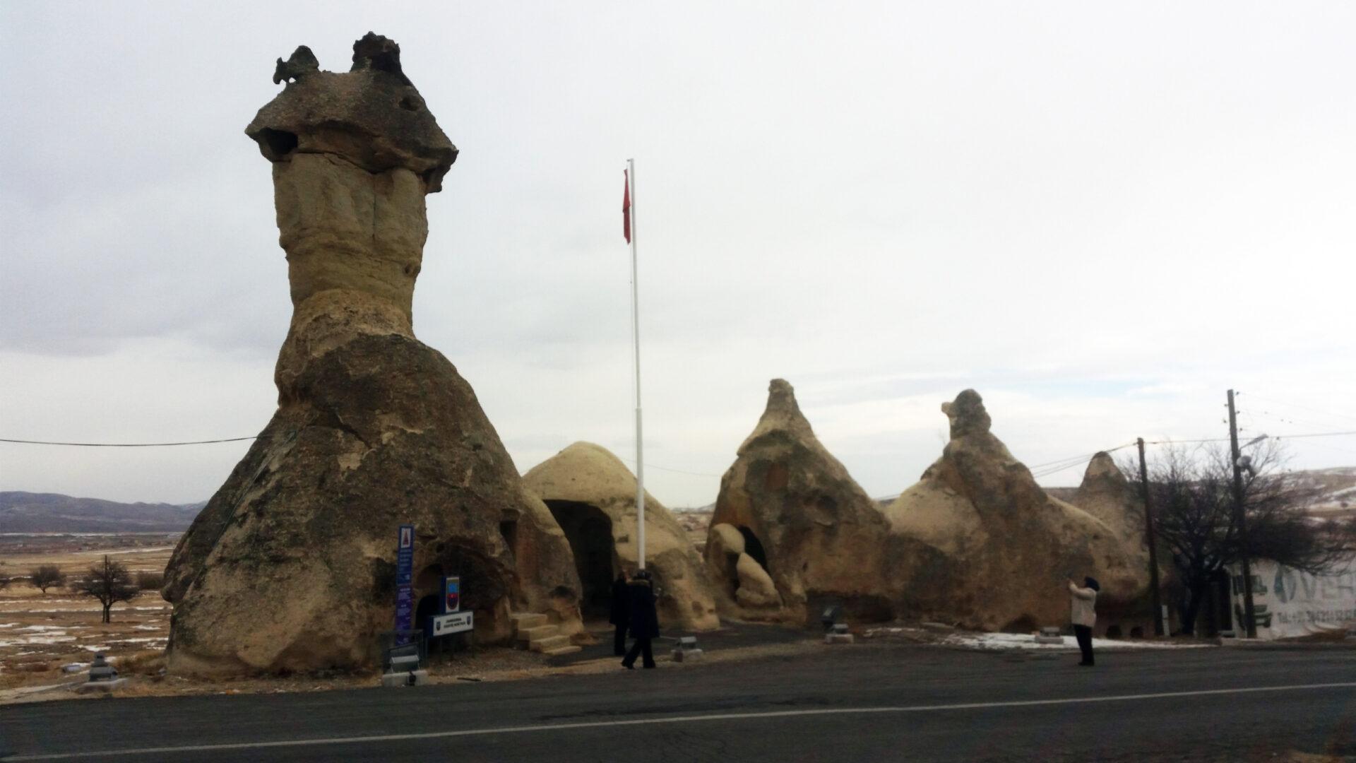 Каменные грибы Пашабаг иеще немного Каппадокии