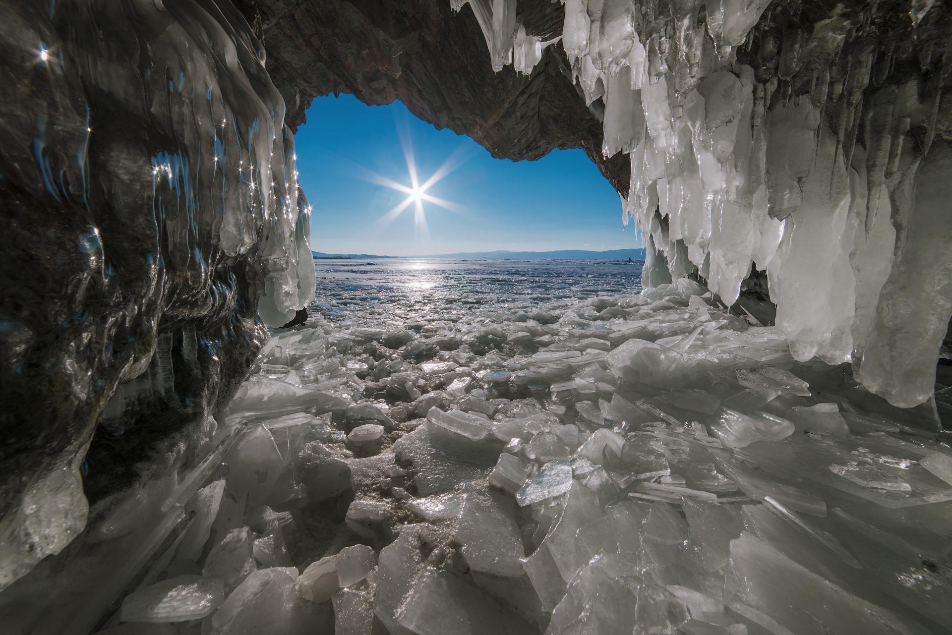 Ледовая сказка Байкала
