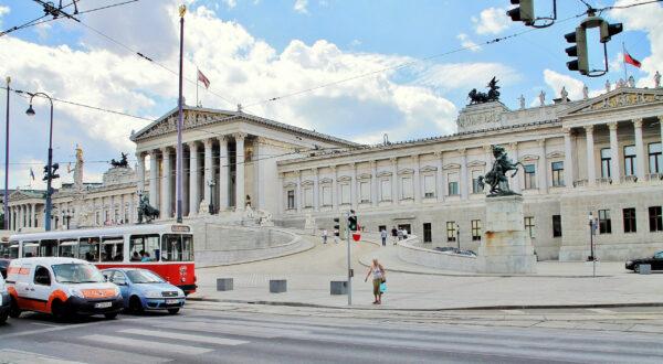 Прогулки поВене. Австрийский Парламент.