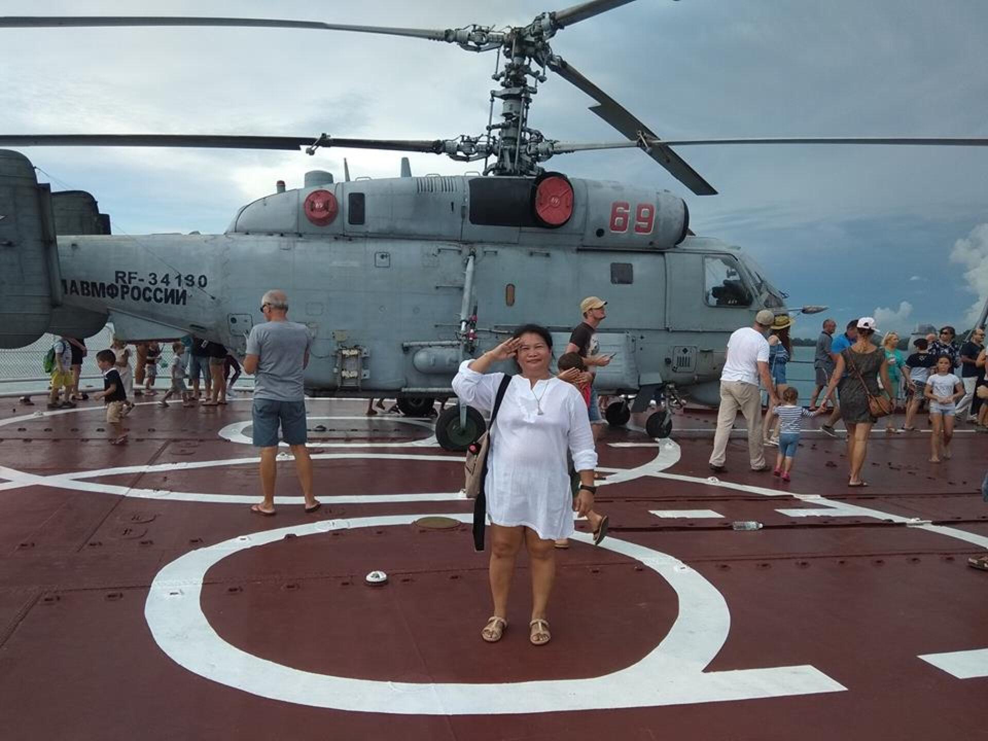 Русские моряки вСаттахипе !