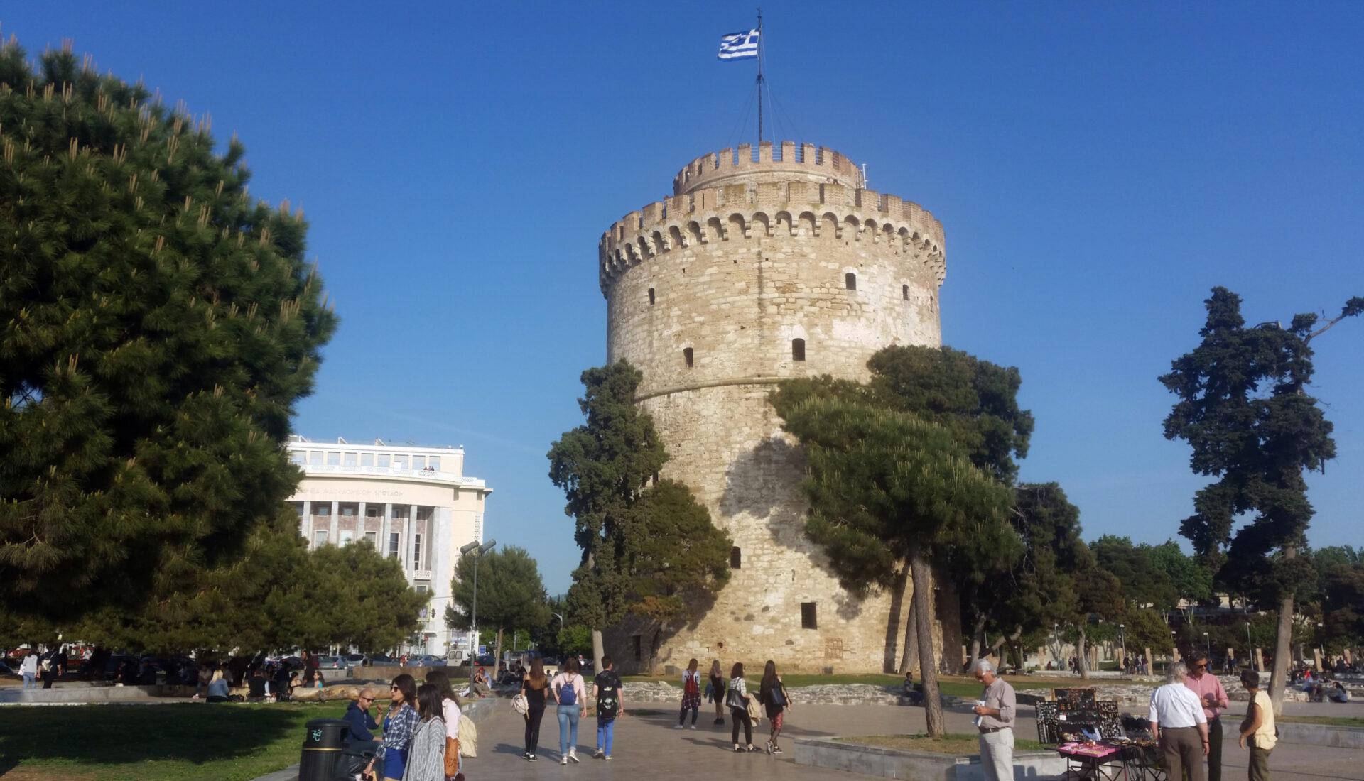Салоники. Несколько часов всеверной столице Греции.
