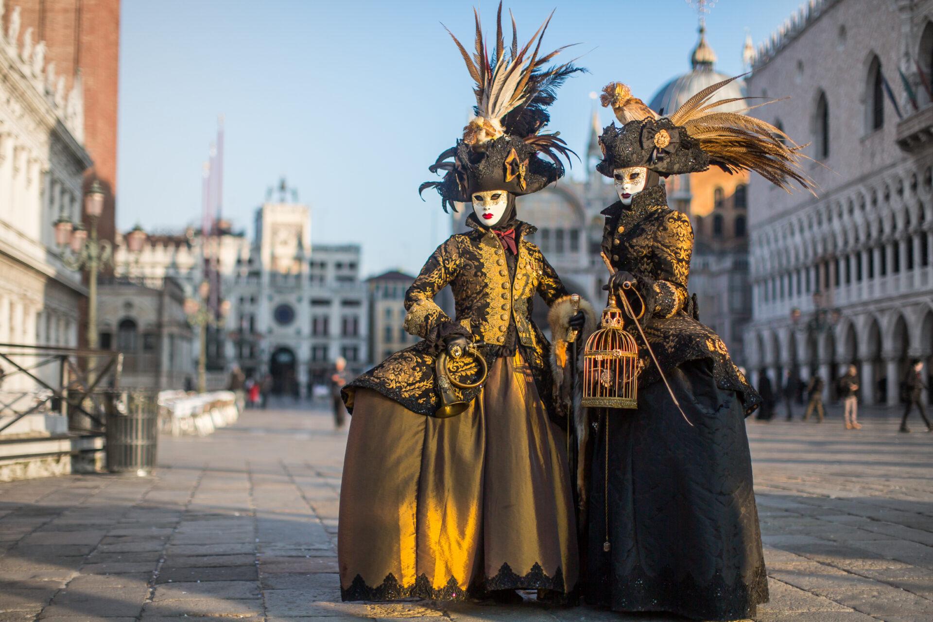 Карнавал вВенеции 2018